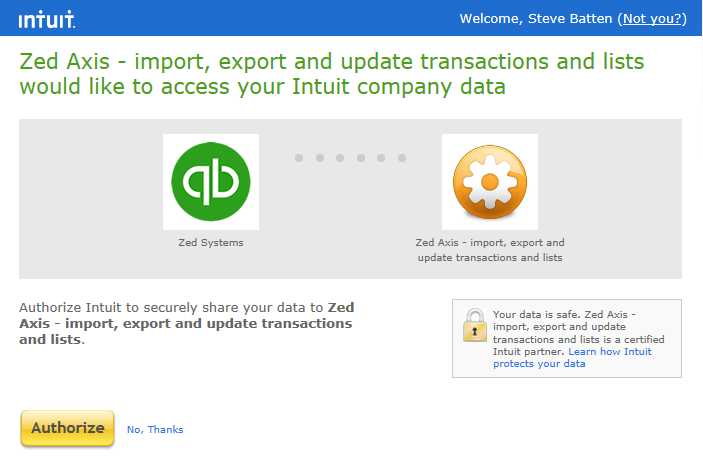 How to connect to QuickBooks Online - Zed Systems