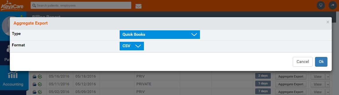 Import Alayacare data into QuickBooks - Zed Systems