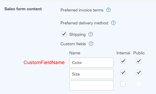 How to import custom fields on transactions into QuickBooks
