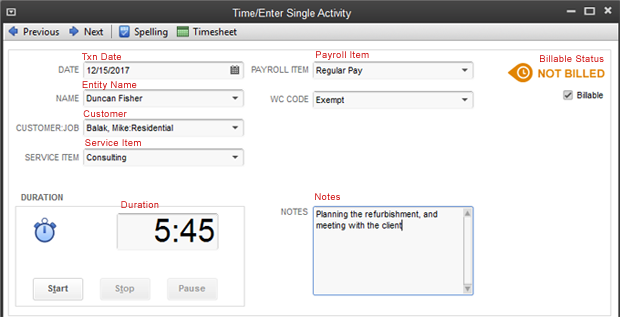 Importing time entries into QuickBooks - Zed Systems